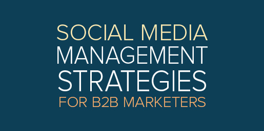 social media management strategies for b2b marketers