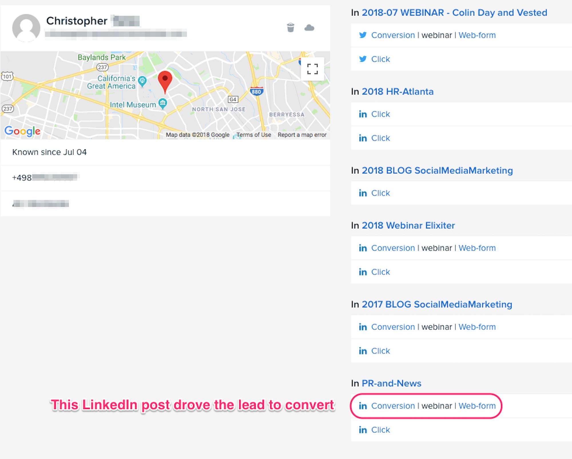 Basing decisions off of analytics inside your B2B social media management platform