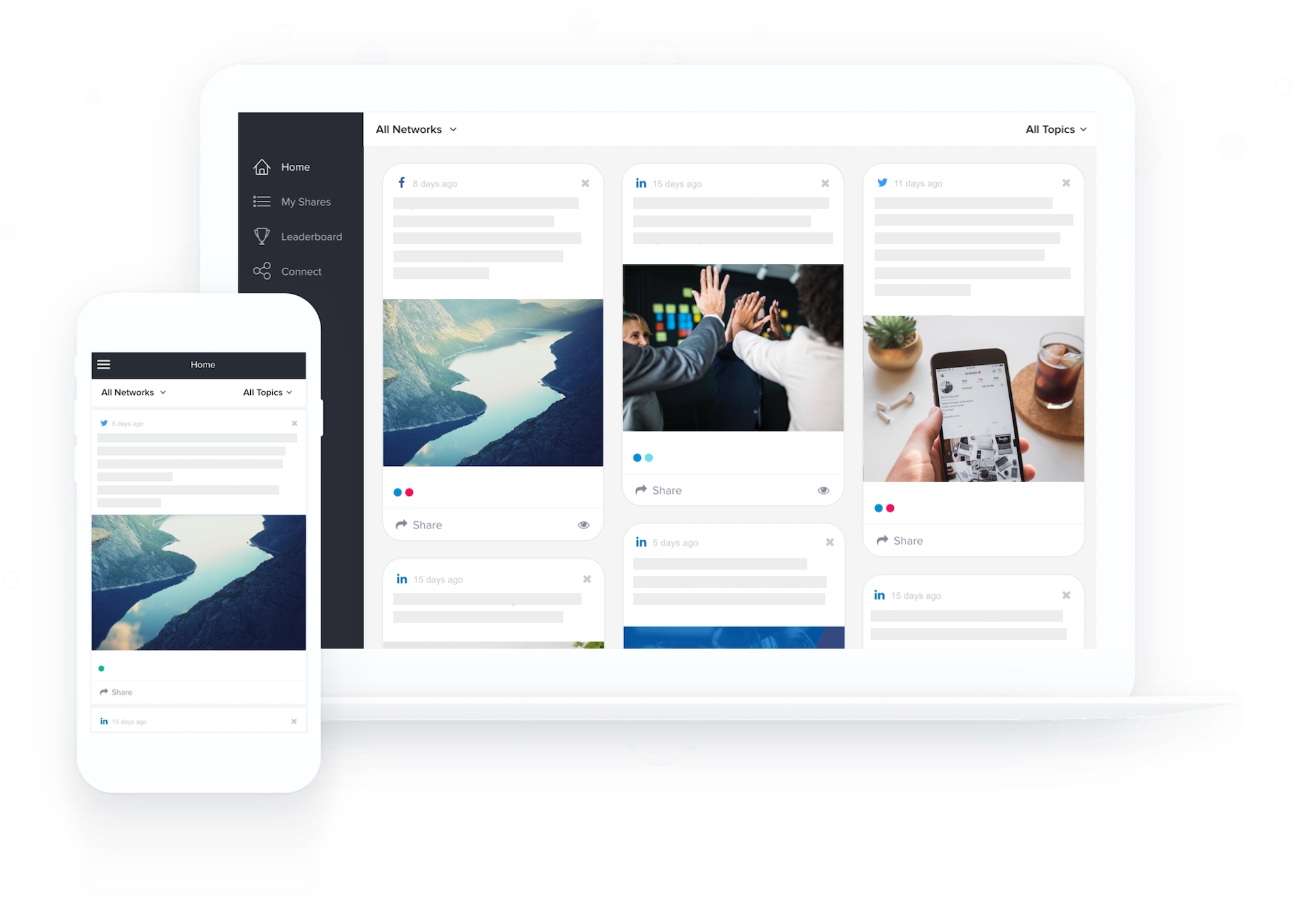 establishing roi for a B2B social media management platform