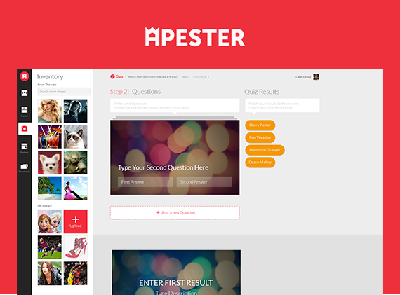 apester is one the top social media tools for quizzes