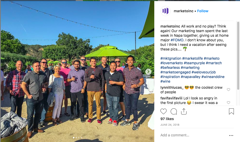 marketo doing social recruiting