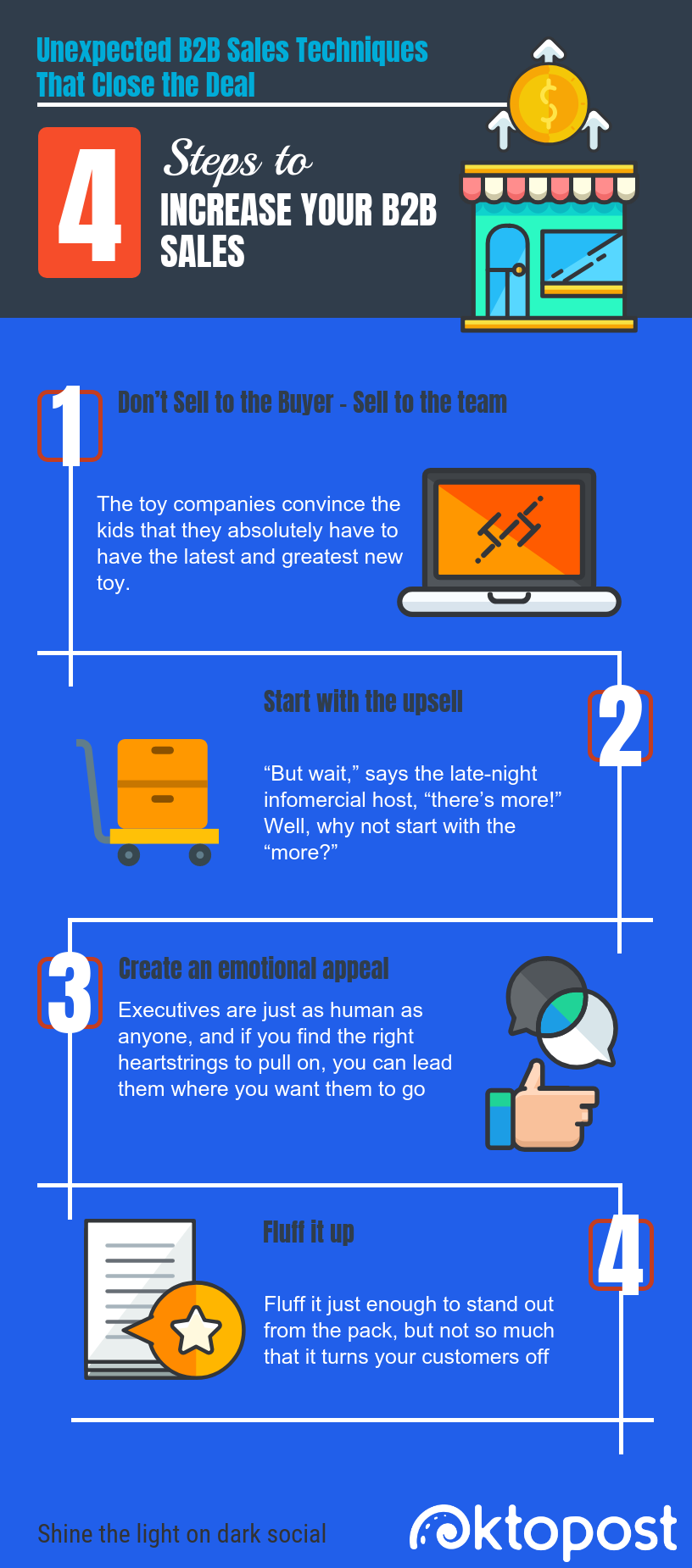 infographic: 4 Unexpected B2B Sales Techniques That Close the Deal