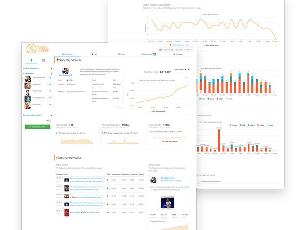 social insider dashboard