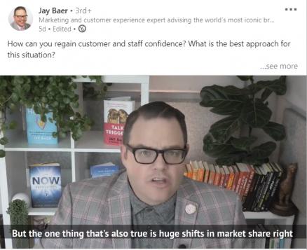 Jay Baer Linkedin