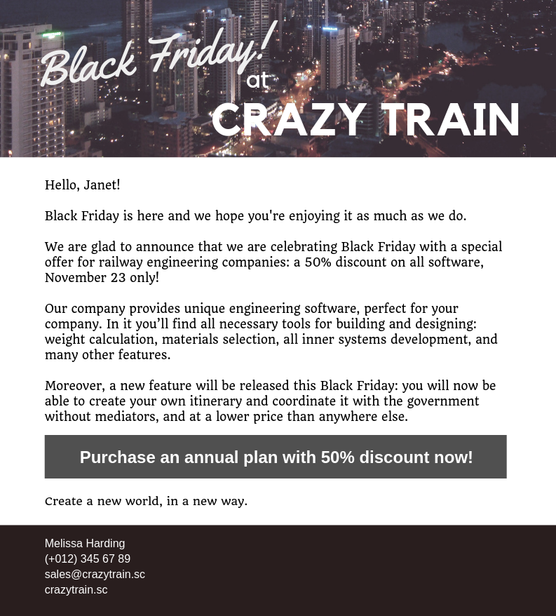 black-friday-at-crazy-train