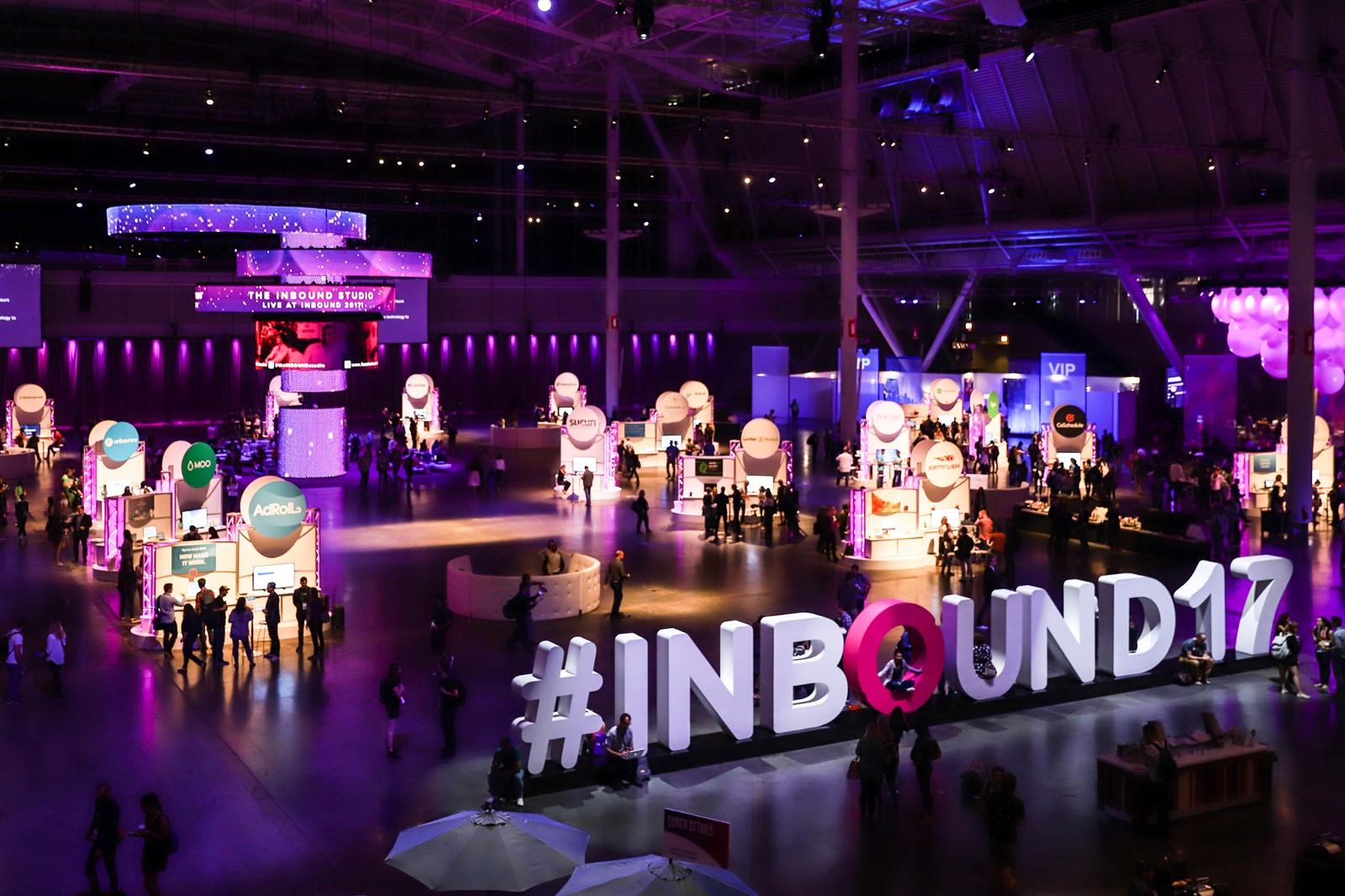 INBOUND 2017 conference