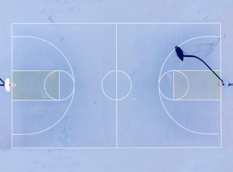 basketball court teams